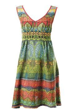 Geom.Patt.Dress, Loose Stitch Knit  Ivko