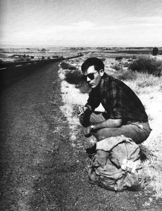 Hunter S. Thompson on the road