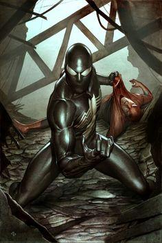 Spider-Man vs Venom by Adi Granov