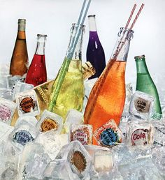 Soda, Straws, Ice Caps  Glass Container Manufacturers Institute, 1955.