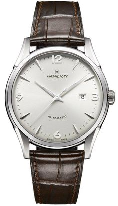 Hamilton Watch American Classic Jazzmaster Thin O Matic #bezel-fixed #bracelet-strap-alligator #brand-hamilton #case-material-steel #case-width-42-mm #clasp-type-tang-buckle #delivery-timescale-7-10-days #dial-colour-silver #gender-mens #http-youtu-be-i94s835jy04 #luxury #movement-automatic #official-stockist-for-hamilton-watches #packaging-hamilton-watch-packaging #subcat-american-classic-timeless-classic #supplier-model-no-h38715581 #warranty-hamilton-official-2-year-guarantee…