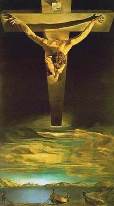 Christ of Saint John of the Cross by Salvador Dalí, 1951    Kelvingrove Art Gallery and Museum, Glasgow