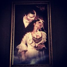 There were huge paintings of the Phantom in MDM, Moscow. And they were amazing.