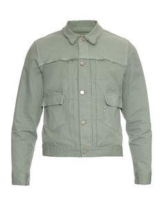 Harry patch-pocket cotton-drill jacket | Maison Kitsuné | MATCHESFASHION.COM