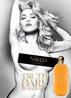 Madonna - Truth or Dare Naked fragrance ad