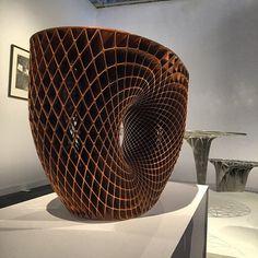 by jannekyttanen | 3D Printed Vase | #designmiami #artbasel3D PrintingMore Pins Like This At FOSTERGINGER @ Pinterest