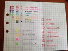How use your planner to increase productivity