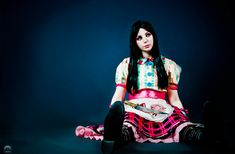 Alice Madness Returns Cosplay : Misstitched Doll by thecrystalshoe.deviantart.com
