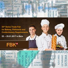 #Agenda del 22 al 25 FBK Swiss Trade Fair for Bakery en Berna 🇨🇭 http://www.inocuidadyvida.com/enero2017
