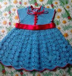Elegant crochet dress with an easy step-by-step look and admire beautiful work yarn | Crochet Patterns