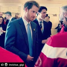 #Repost @invictus_gigi with @repostapp ・・・ My brother in arms, captain Wales, AKA HRH Harry of Wales ☺ What a nice person to meet ! See you in Toronto brother... I hope !  #princeharry #invictus #invictusteamcanada #invictustoronto2017 #ig17 #iam #adaptivesports #unconquered #soldieron #toronto #the6ix #tdot #seeyouintoronto