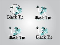 logo for black tie espresso Black Tie, Espresso, Logos, Movies, Movie Posters, Espresso Coffee, Film Poster, Films, Popcorn Posters