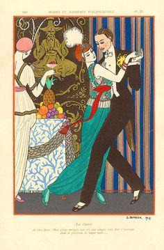 """La Danse"" ~ Georges Barbier, 1914"