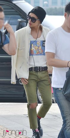 g-dragon airport fashion 120720