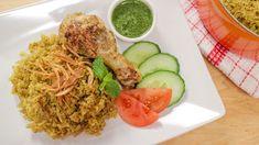 Thai Chicken Biryani (kao mok gai) ข้าวหมกไก่