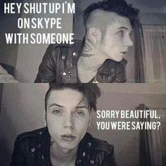 Andy biersack imagine