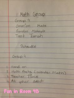 Fun in Room 4B: Math Workshop Success and a Blogger Meet Up!