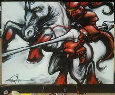 graffito di Gattonero, Legnano