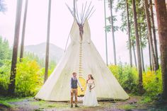 Gorgeous Rustic Bohemian Wedding in Vancouver