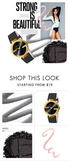 """""""Bez naslova #24"""" by merima-mrahorovic ❤ liked on Polyvore featuring Gucci and Urban Decay"""