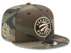 Toronto Raptors New Era NBA Metallic Woodland 9FIFTY Snapback Cap