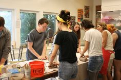 Youth Pottery Workshop with Megan Collins
