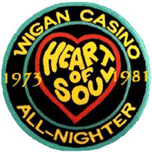 Northern Soul badge for bag/jacket