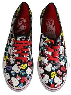 ed28999d3ad5d2 Vans Hello Kitty Authentic Lo Pro Trainers