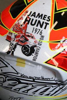 James Hunt helmet for KIMI