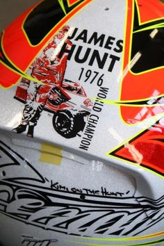 2013 James Hunt lid for Monaco. Iceman