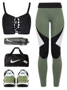 """Untitled #380"" by totalfashiongirl ❤ liked on Polyvore featuring Charli Cohen and NIKE"