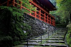 Japanese Buildings, Stairs, Decor, Stairway, Decoration, Staircases, Decorating, Ladders, Deco