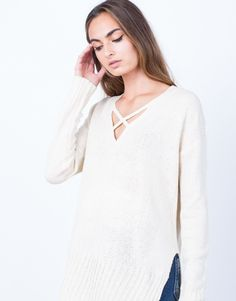 Knitted in Love Sweater Top                                                                                                                                                                                 More