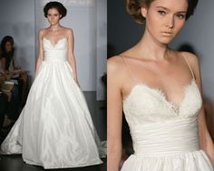 Weddingbee blog post: if money were no object, what's your dream wedding gown? Sigh. Love!