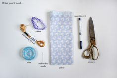 How to Make Your Own Wedding Favour Napkins