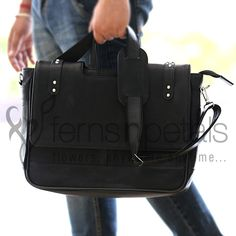 This #black #bag with good space will suffice all the requirements of your dad and thus it makes up a #perfect # #fathersday #gift for this time