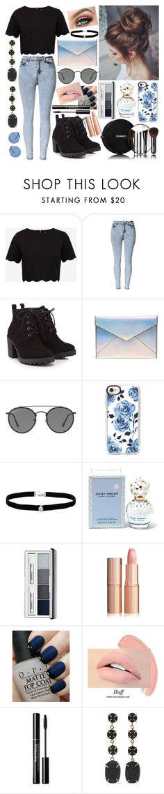 """""""Untitled #126"""" by nirataa ❤ liked on Polyvore featuring Ted Baker, Red Herring, Rebecca Minkoff, Ray-Ban, Casetify, Chanel, Amanda Rose Collection, Marc Jacobs, Clinique and OPI"""