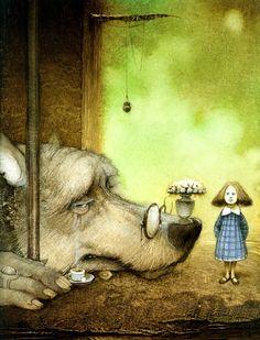 Kirill Chelushkin - Alice and the City Wolf