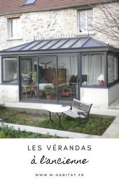 Sas Entree, Extension Veranda, Gazebo, Pergola, Habitats, Patio, Outdoor Decor, Home Decor, Home
