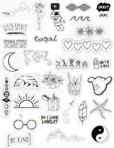 Best White Aesthetic Stickers Sticker for mobile, laptop of 2020 - Sticker Advice Macbook Stickers, Phone Stickers, Diy Stickers, Planner Stickers, Sticker Ideas, Iphone Macbook, Logo Stickers, Cute Laptop Stickers, Free Printable Stickers