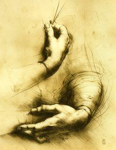 hand study - Degas