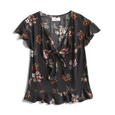 Spring Stylist Picks: Feminine floral blouse
