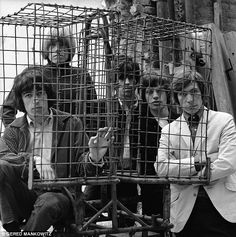 Rare photo of The Rolling Stones photoshoot in London, 1964