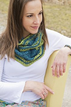 Irish Girlie Knits - irishgirlieknits.com - Photo is of Rathmore, done in Anzula's For Better or Worsted