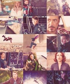 Avengers Movie Scenes