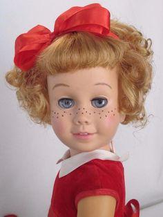 CHATTY CATHY Blonde Soft Face Bob Mattel Party Dress TALKS FREE SHIPPING #Mattel #DollswithClothingAccessories