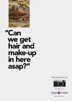 Advertising Agency: AMVBBDO, London, UK Creative Directors: Alex Grieve, Adrian Rossi Art Director: Richard Littler Copywriter: Zac Ellis Typogra