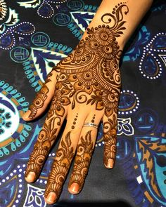 Likes, 9 Comments - Henna Artist Full Mehndi Designs, Henna Tattoo Designs Simple, Henna Art Designs, Mehndi Designs For Beginners, Mehndi Designs For Girls, Mehndi Design Pictures, Bridal Henna Designs, Mehndi Designs For Fingers, Dulhan Mehndi Designs