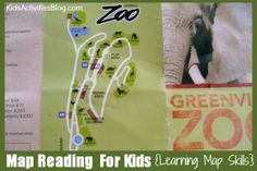 Map Reading For Kids: Learning Map Skills