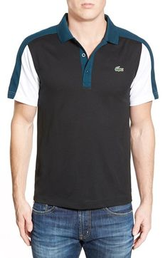 Lacoste Ultra Dry Colorblock Polo available at  Nordstrom Polo T Shirts,  Polo Shirt Style fc40072063
